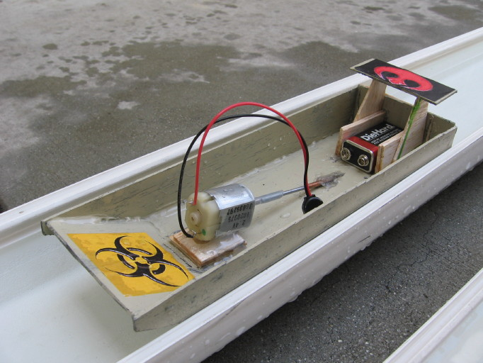 Cardboard Boats Physics Boat Race Electric Motorboat